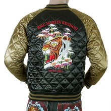 RMC Jeans fully reversable tiger silk jacket YORO5662