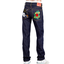 RMC Super Exclusive British PIRATES and Rose Regular Fit 1001 Model House Selvedge Raw Denim Jeans REDM0398