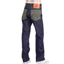 Yoropiko Super Exclusive Selvedge Gold Embroidered Denim Jeans for Men YORO0656