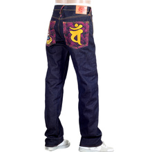 RMC Martin Ksohoh Indigo Raw Selvedge Jeans with Exclusive Dainiti Nyorai YEAR OF THE RAM Embroidery REDM3104