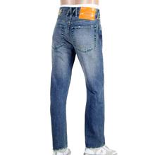 Yoropiko by Martin Yat Ming Original Cut Stone Washed Faded Selvedge Denim Jeans YORO9085