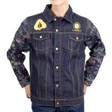 Yoropiko Fudoumyouou Limited Edition Exclusive Embroidered Raw Selvedge Denim Jacket YORO9175