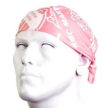 RMC Jeans Printed Pink 100% Cotton Bandana for Men RMC Jeans2933