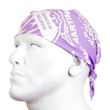 RMC Martin Ksohoh Light Purple Bandana. RMC 2937