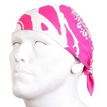 RMC Jeans 100% Cotton Fuchsia Printed Bandana For Men RMC Jeans2917