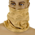 RMC Head warmer Martin Ksohoh reversable latte neck warmer snood 5515N01D5 REDM5506