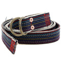 RMC Belt Martin Ksohoh 2444 B136 rainbow denim belt REDM5453