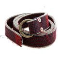 RMC Belt Martin Ksohoh 8279 B27 red denim belt REDM5458