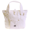 RMC MKWS Versatile Unisex White 100% Cotton Canvas Hand Carry Bag REDM5586