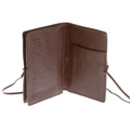 RMC Martin Ksohoh wallet MKWS brown Italian leather credit business card holder 1064-W266 REDM5711