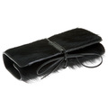 RMC Martin Ksohoh Wallet MKWS large black horse hair bill fold, credit card & coin pouch wallet REDM5758