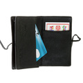 RMC Martin Ksohoh Wallet MKWS black horse hair credit business card holder 225826 FX61G 9662 REDM5761