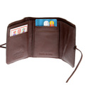 RMC Martin Ksohoh Wallet MKWS 3 fold brown horse hair mini wallet REDM5775
