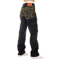 RMC Martin Ksohoh full back Gold Tsunami Wave denim jeans REDM6215