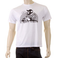 RMC Martin Ksohoh white No Monkey Business t-shirt REDM5033