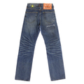 Yoropiko Martin Yat Ming Exclusive Design Vintage Cut Washed Worn Finish Denim Jeans YORO5433