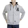 RMC MKWS sweatshirt marl grey teddy bear top REDM2311