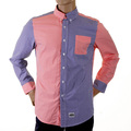 RMC Martin Ksohoh MKWS red and navy patch shirt. REDM2111