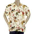 RMC Martin Ksohoh yellow Japanese Ghost printed shirt REDM0909