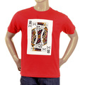 RMC Martin Ksohoh red poker playing card T-shirt REDM2088