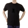 RMC Martin Ksohoh black with flocked black skull T-shirt REDM2115