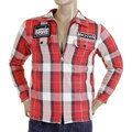 RMC Martin Ksohoh MKWS red check padded shirt jacket REDM5823