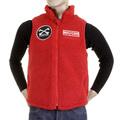 RMC Martin Ksohoh MKWS Papamamason red fleece vest REDM5828