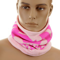 RMC Martin Ksohoh Light Pink Reversible 5515N01D5 Fleece Neck Warmer Snood REDM5484A