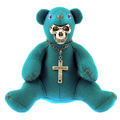 Yoropiko x Unlimitedsifr Bear Limited Edition Teal Blue Teddy Bear REDM0471