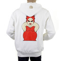 RMC Martin Ksohoh white My Girl zipped hoodie sweatshirt REDM1002