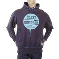 RMC Martin Ksohoh navy Crazy Children over head hooded sweatshirt REDM0926