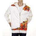 RMC Martin Ksohoh white zipped hoodie sweatshirt jacket REDM0930