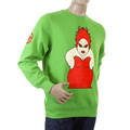 RMC Martin Ksohoh lime My Girl crew neck sweatshirt REDM0956