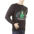 RMC Martin Ksohoh black King Kong RMC Evolution crew neck sweatshirt REDM0923