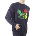 RMC Martin Ksohoh navy Toy friend crew neck sweatshirt REDM0646