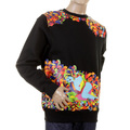 RMC Martin Ksohoh black crew neck sweatshirt REDM0938