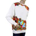 RMC Martin Ksohoh white crew neck sweatshirt REDM0937
