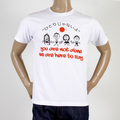 RMC Martin Ksohoh t-shirt white Pray for Japan Charity Top REDM0050