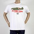 RMC Martin Ksohoh white Tiger Plane T-shirt REDM0969