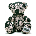 RMC Martin Ksohoh MKWS Limited Edition black bandana teddy bear RMC1240