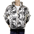 RMC Martin Ksohoh grey camo zipped hooded sweatshirt REDM1016