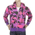 RMC Martin Ksohoh purple camo zipped hooded sweatshirt REDM1017