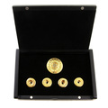 Yoropiko by Martin Yat Ming gold rhodium plated button set in gift box YORO2394