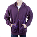 RMC Martin Ksohoh purple Toyo Story Mountain zipped hoody sweatshirt REDM0940