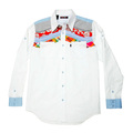 Yoropiko mens long sleeve shirt. YORO0261