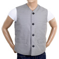 RMC X MKWS mens light blue cotton waistcoat RMC1951