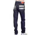 RMC 4A mens silver FM Union front indigo raw denim jeans RMC1924