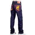 RMC Jeans Dainiti Nyorai YEAR OF THE RAM Embroidered Indigo Raw Selvedge Denim Jeans REDM3104